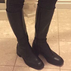 Classic Nine West talk ladies leather boots